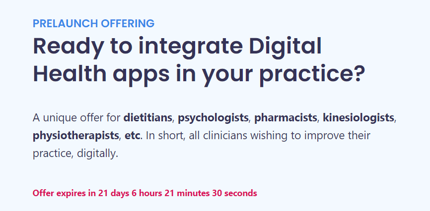 Everything you need to know on our prelaunch to become a Digital Health Leader